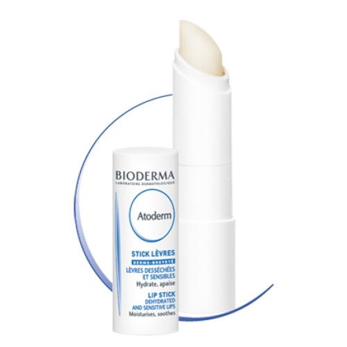Биодерма атодерм стик для губ для сухой/чувствительной кожи 4г, фото №1