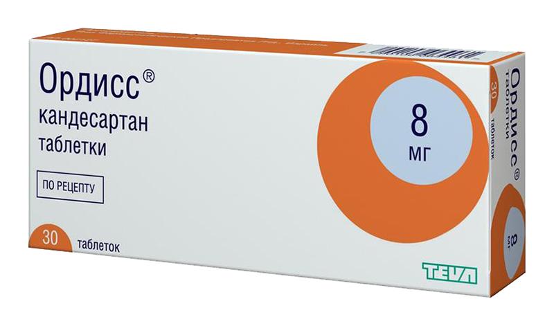 Ордисс 8 мг 30 шт. таблетки