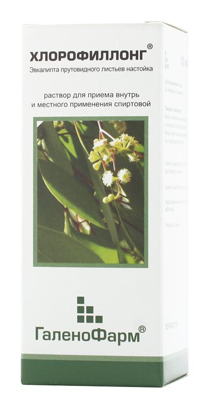 ХЛОРОФИЛЛОНГ 100мл раствор спиртовой