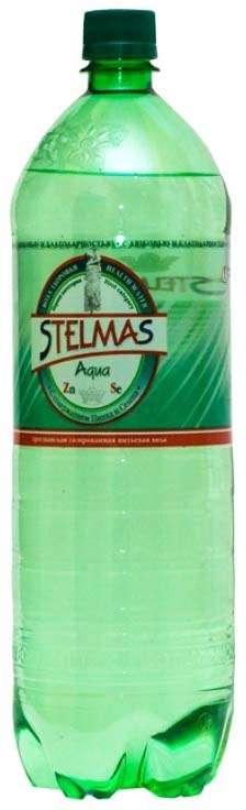 Стэлмас вода питьевая газированная 1,5л бутылка пэт., фото №1