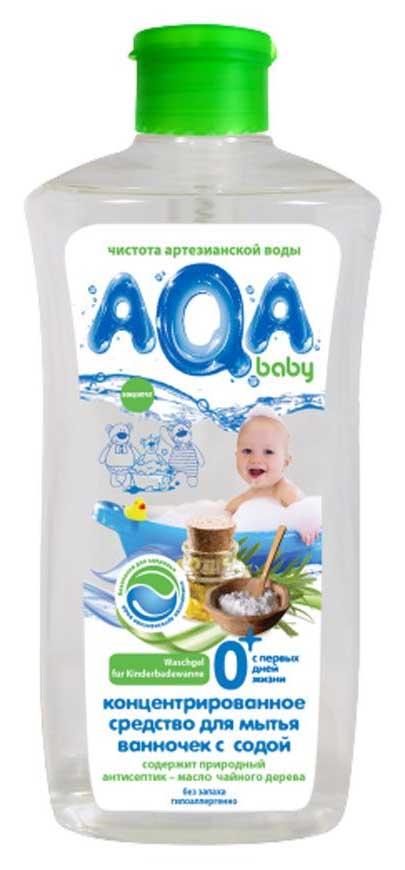Аква бэби средство для мытья ванночек с содой 500мл, фото №1