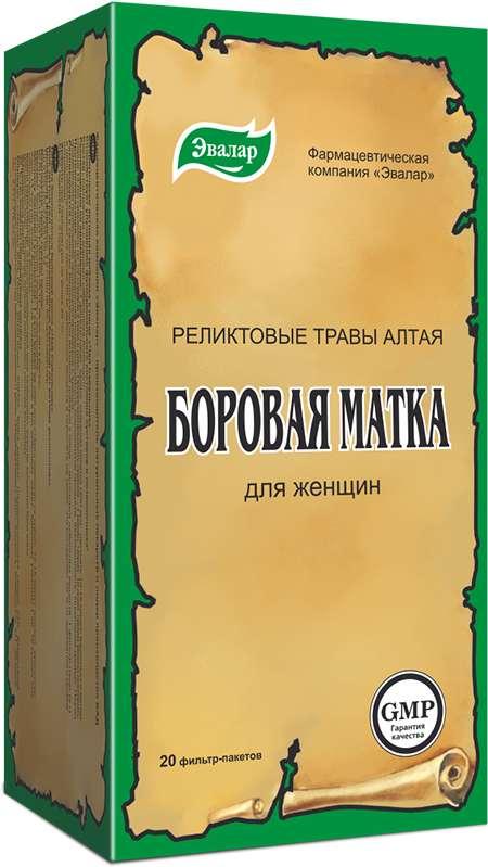 Боровая матка чай 20 шт. фильтр-пакет эвалар, фото №1