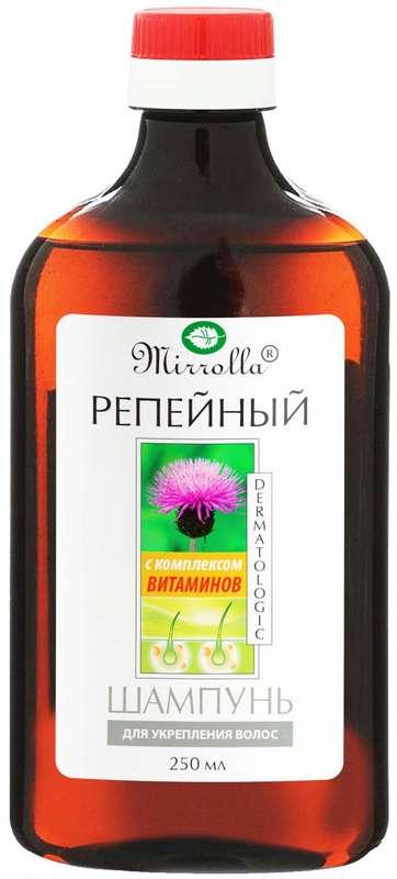 Мирролла шампунь репейный укрепляющий с комплексом витаминов 250мл, фото №1