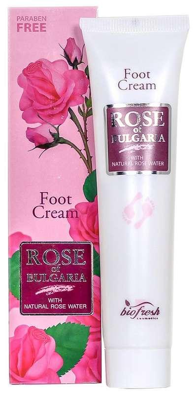 Роуз оф болгария (rose of bulgaria) крем для ног май роуз дезодорирующий и расслабляющий 75мл, фото №1