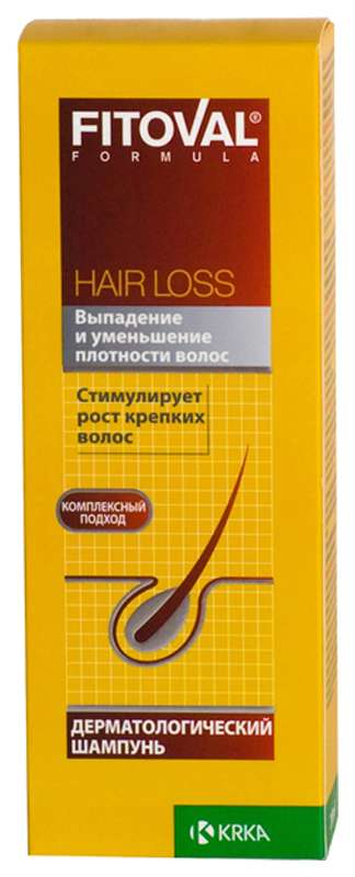 Фитовал шампунь от выпадения волос 200мл, фото №1