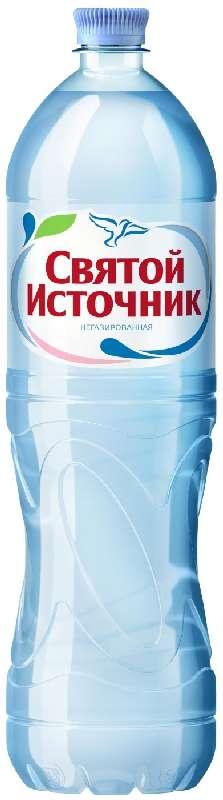 Святой источник вода питьевая без газа пэт 1,5л, фото №1