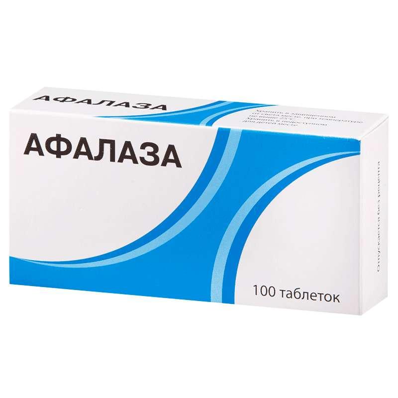 Афалаза таблетки для рассасывания 3 мг 100 шт.;