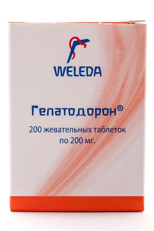 Веледа гепатодорон таблетки жевательные 200 шт., фото №1
