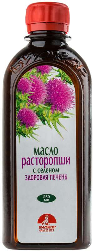 Расторопша масло с селеном 250мл, фото №1