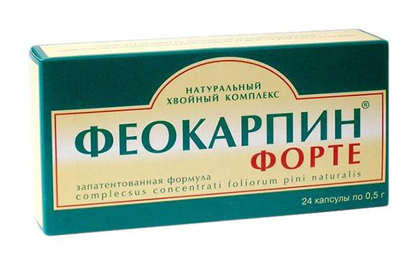 ФЕОКАРПИН ФОРТЕ 24 шт. капсулы