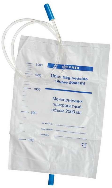Апексмед мочеприемник прикроватный 2л, фото №1