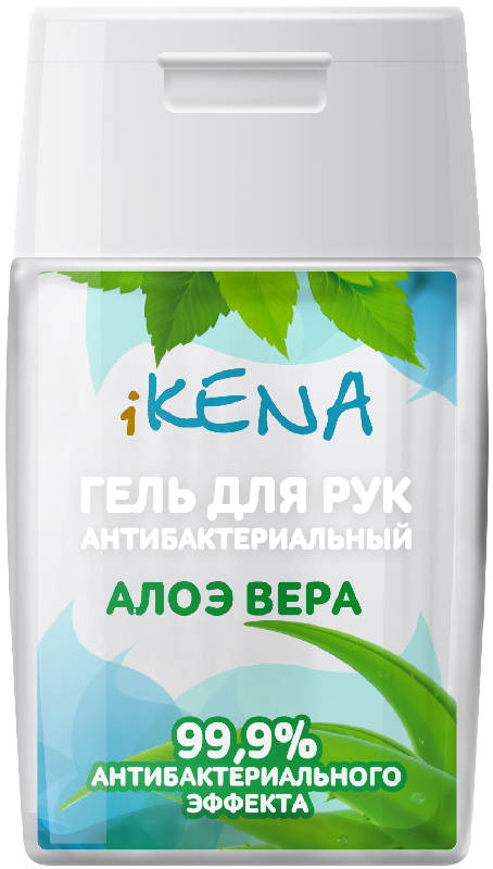 Икена гель для рук антибактериальный алоэ вера 50мл, фото №1