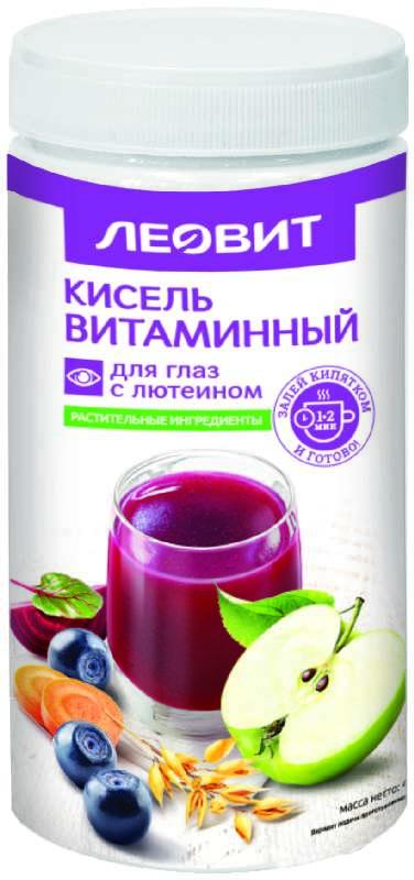 Леовит биоинновации кисель диетический витаминный для глаз с лютеином 400г, фото №1