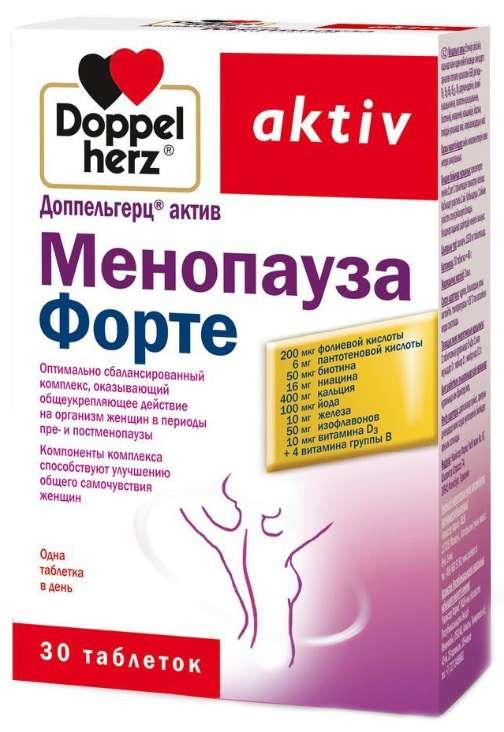 ДОППЕЛЬГЕРЦ АКТИВ МЕНОПАУЗА ФОРТЕ таблетки 30 шт.