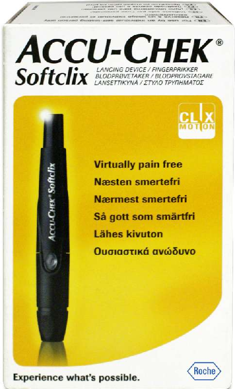 Акку-чек софткликс устройство для прокалывания кожи, фото №1