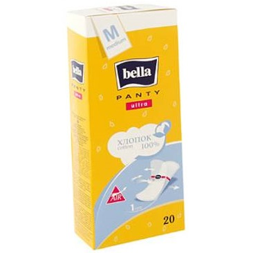 Белла панти ультра прокладки ежедневные медиум 20 шт., фото №1