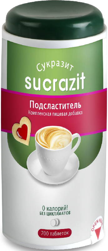 Сукразит заменитель сахара таблетки 500 шт., фото №1