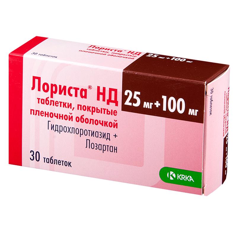 ЛОРИСТА НД таблетки 0 30 шт.