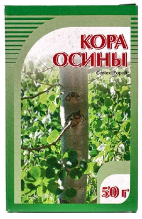 Осины кора 50г, фото №1