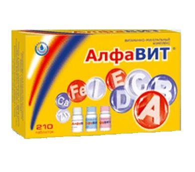 Алфавит классик таблетки 210 шт., фото №1