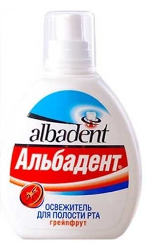 Альбадент освежитель для полости рта грейпфрут 35мл, фото №1