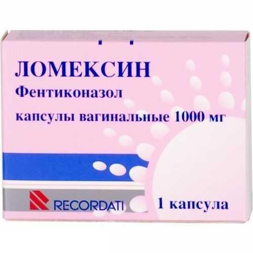 ЛОМЕКСИН капсулы вагинальные 1000 мг 1 шт.