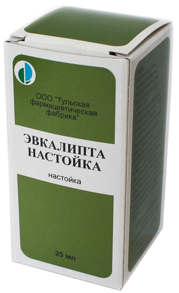 ЭВКАЛИПТА НАСТОЙКА 25мл.