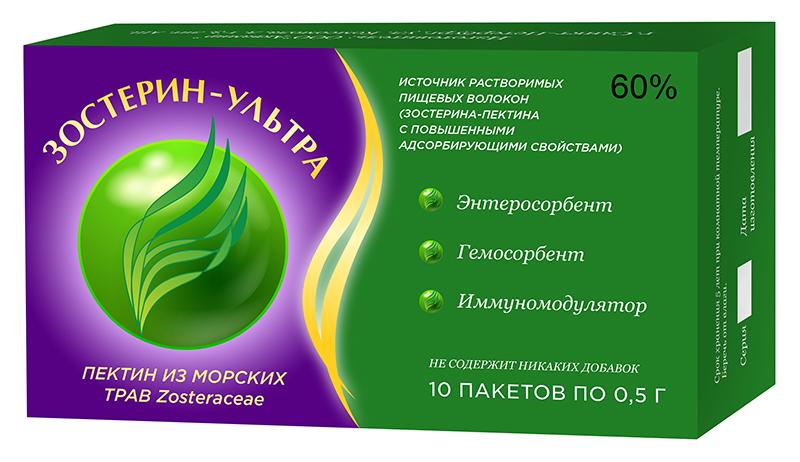 Зостерин Ультра 60 порошок 0,5 г пакетик 10 шт.