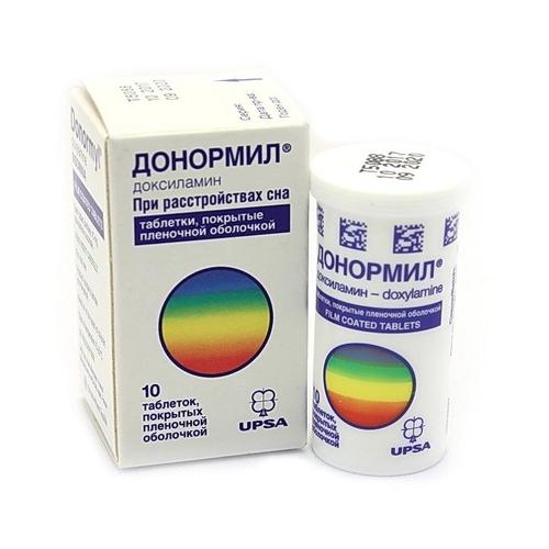 Донормил 15мг 10 шт. таблетки покрытые пленочной оболочкой, фото №1