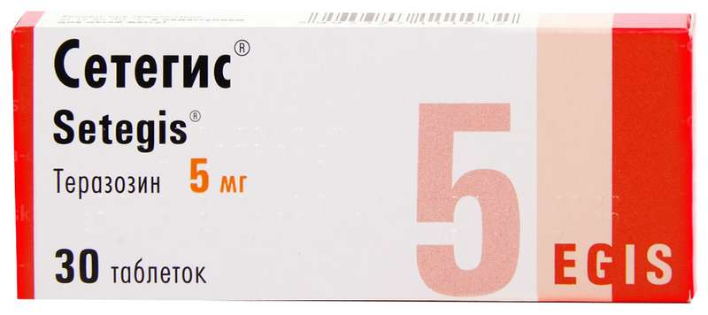 СЕТЕГИС таблетки 5 мг 30 шт.