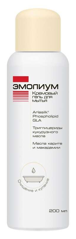 Эмолиум гель для мытья кремовый 200мл, фото №1
