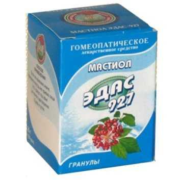 ЭДАС-927 0,17г гранулы гомеопатические (Мастиол)