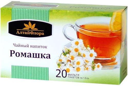 АЛТАЙФЛОРА чайный напиток Ромашка аптечная 1,5г 20 шт.