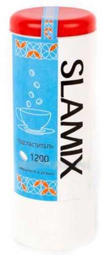 Сламикс подсластитель цикломат+сахарин 1200 шт., фото №1