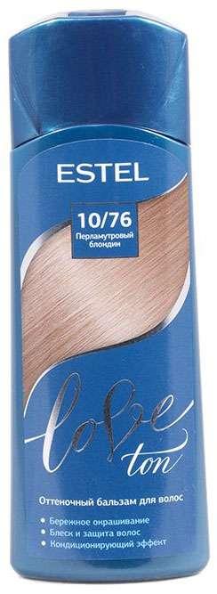 Эстель лав тон бальзам для волос оттеночный 10/76 перламутровый блондин 150мл, фото №1