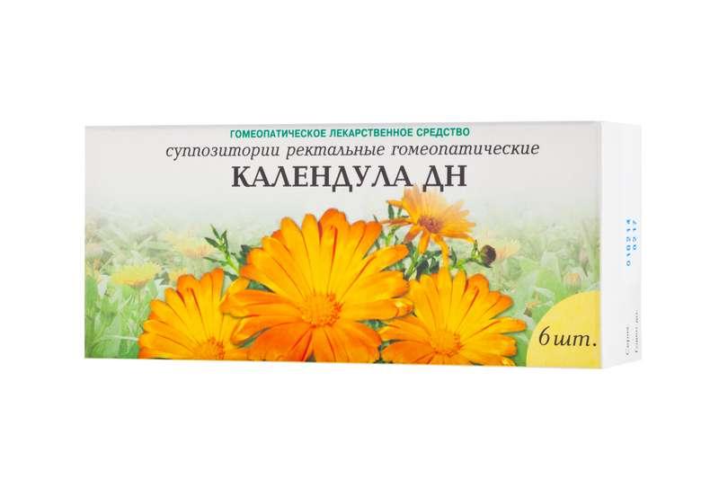 КАЛЕНДУЛА ДН 6 шт. суппозитории ректальные гомеопатические