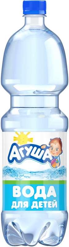 Агуша вода для детей 1,5л, фото №1