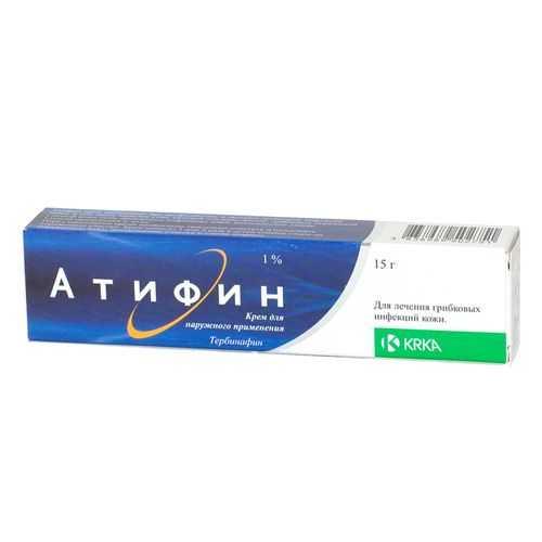 АТИФИН 1% 15г крем