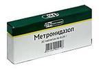 Метронидазол 250мг n20 таб.