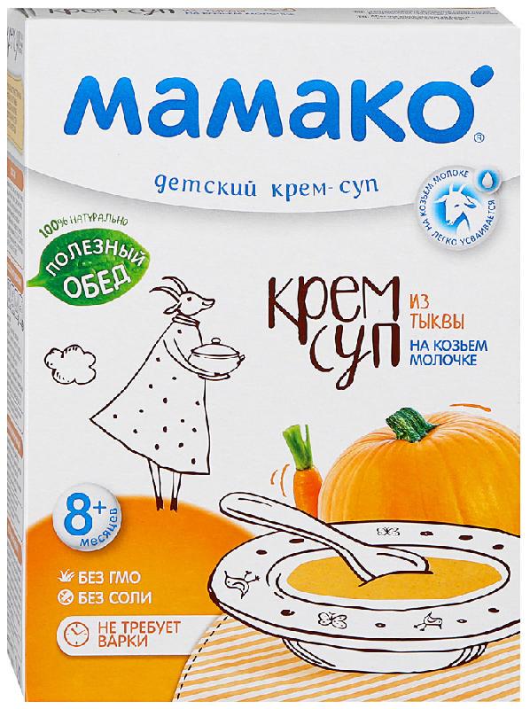 МАМАКО крем-суп детский из Тыквы на козьем молочке 8+ 150г