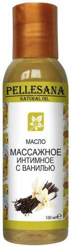 Пеллесана масло массажное интимное с ванилью 100мл, фото №1