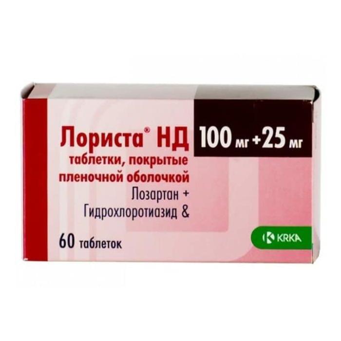 ЛОРИСТА НД таблетки 60 шт.