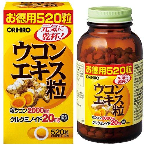 Орихиро экстракт куркумы таб. n520, фото №1