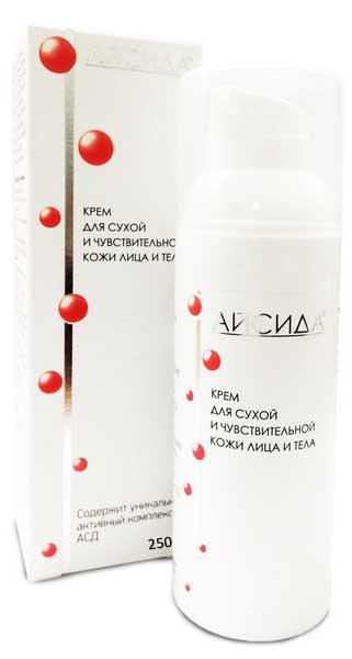 Айсида крем для лица/тела для сухой/чувствительной кожи 250мл, фото №1