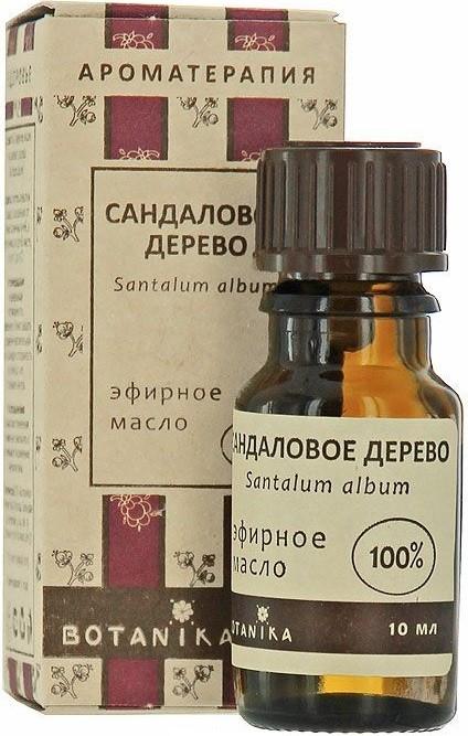Ботаника масло эфирное сандаловое дерево 10мл, фото №1