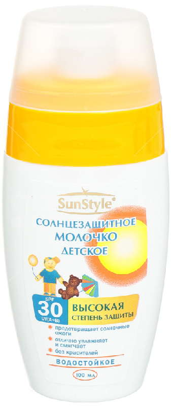 Санстайл мол-спр. солнцезащитный для детей spf30 100мл, фото №1