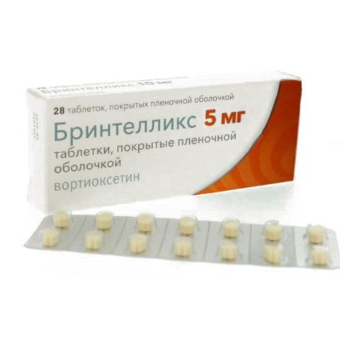 Бринтелликс таблетки 5 мг 28 шт.;