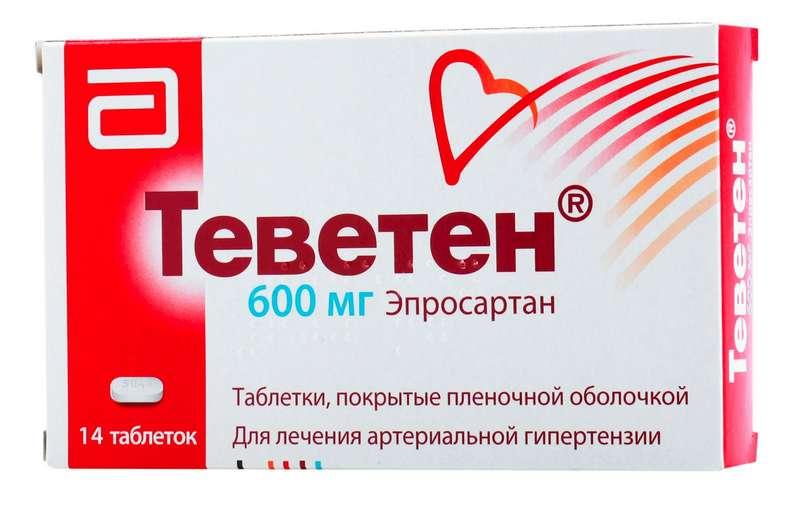 ТЕВЕТЕН таблетки 600 мг 14 шт.