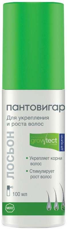 ПАНТОВИГАР лосьон для укрепления и роста волос для мужчин 100мл
