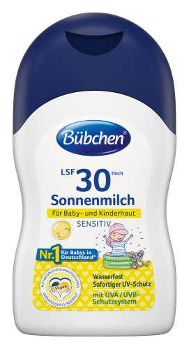 Бюбхен молочко солнцезащитное для чувствительной кожи spf30 150мл, фото №1
